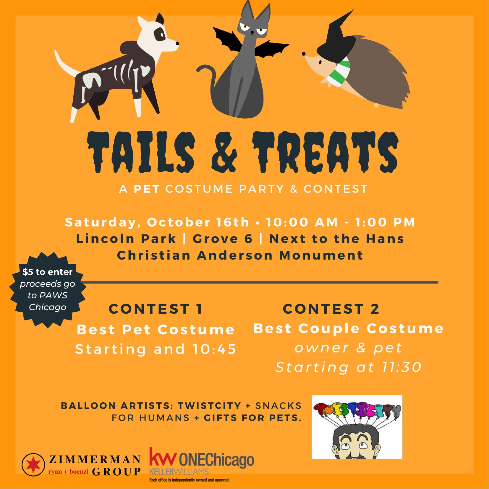 Tails and Treats Invitation